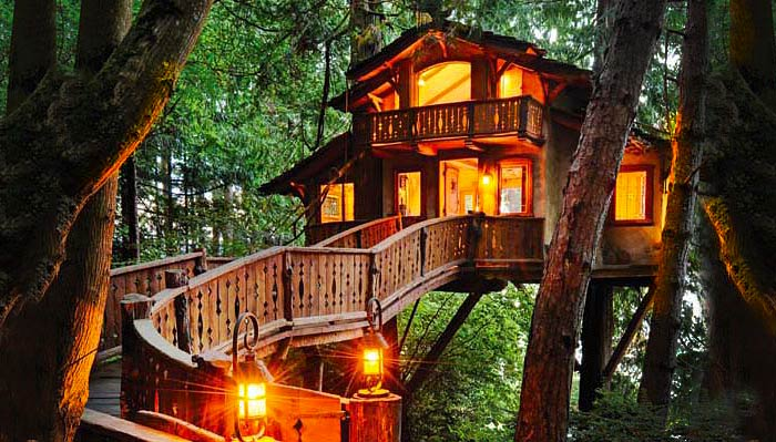 14 Amazing Tree Houses That Will Bring Out Your Inner Elf. #5 is Incredible.