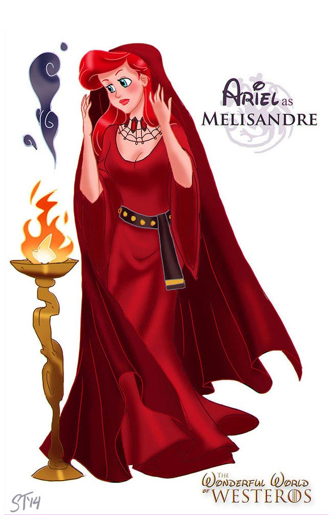 disney-princesses-game-of-thrones-ariel