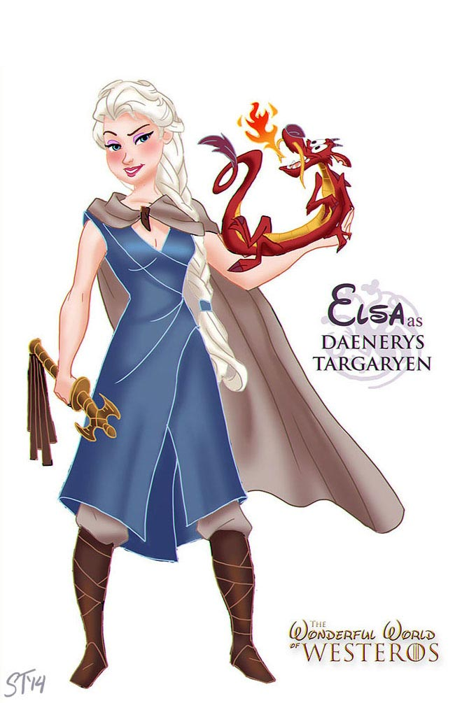 disney-princesses-game-of-thrones-elsa