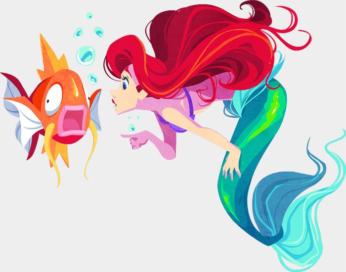 Ariel & Magikarp