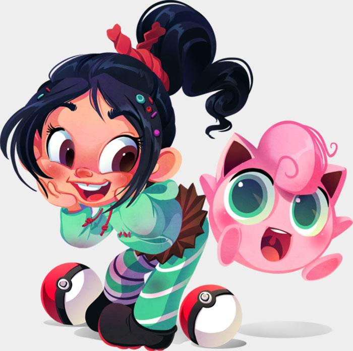 Vanellope & Jigglypuff
