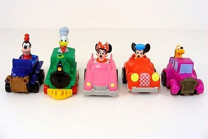 Mickey's Birthdayland Race Cars