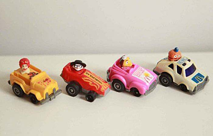 McDonald's Pullback Racecars